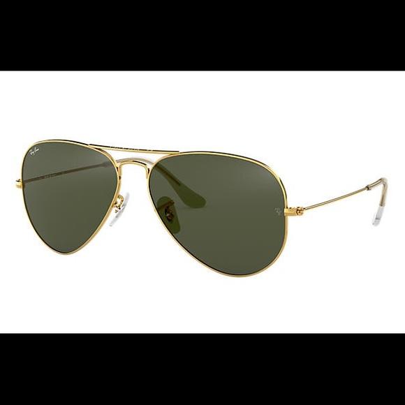 Ray ban gold rimmed aviator sunglasses (Ray-ban)